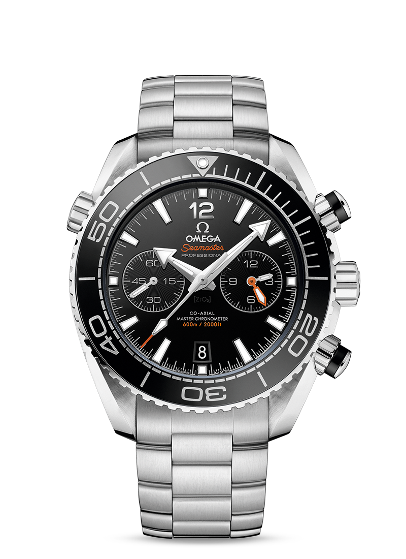 Omega Seamster Professional Co-Axial Chronometer is water resistant to 600 meters.