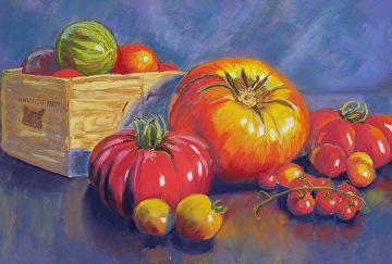 Amazing painting by Deborah O' Rourke - visit her site at Deborourke.com