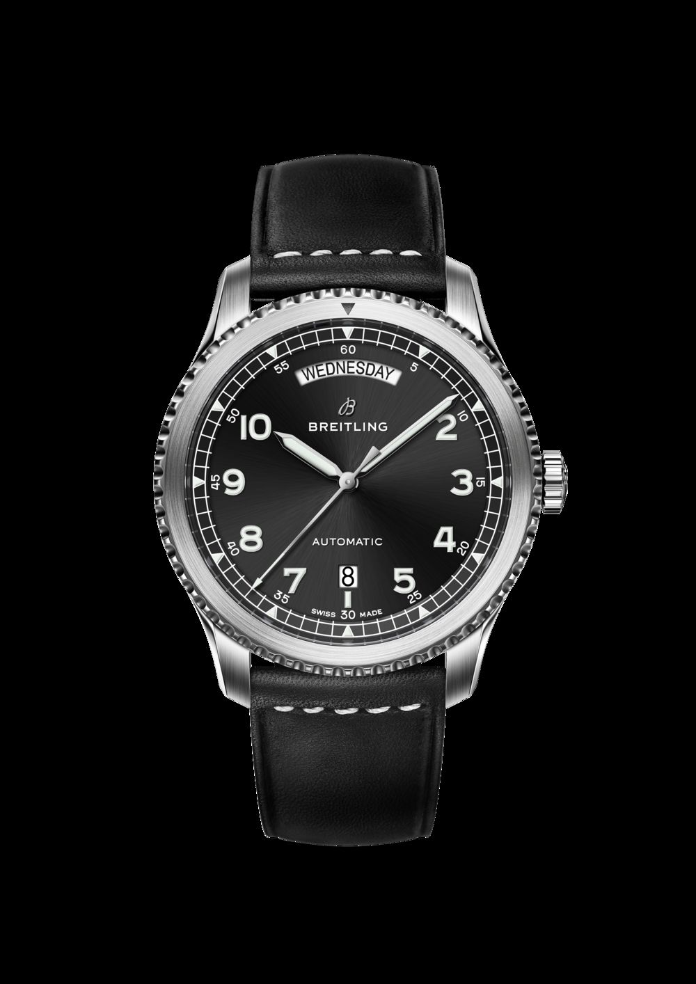 Breitling Navitimer 8 Automatic Day Date watch.