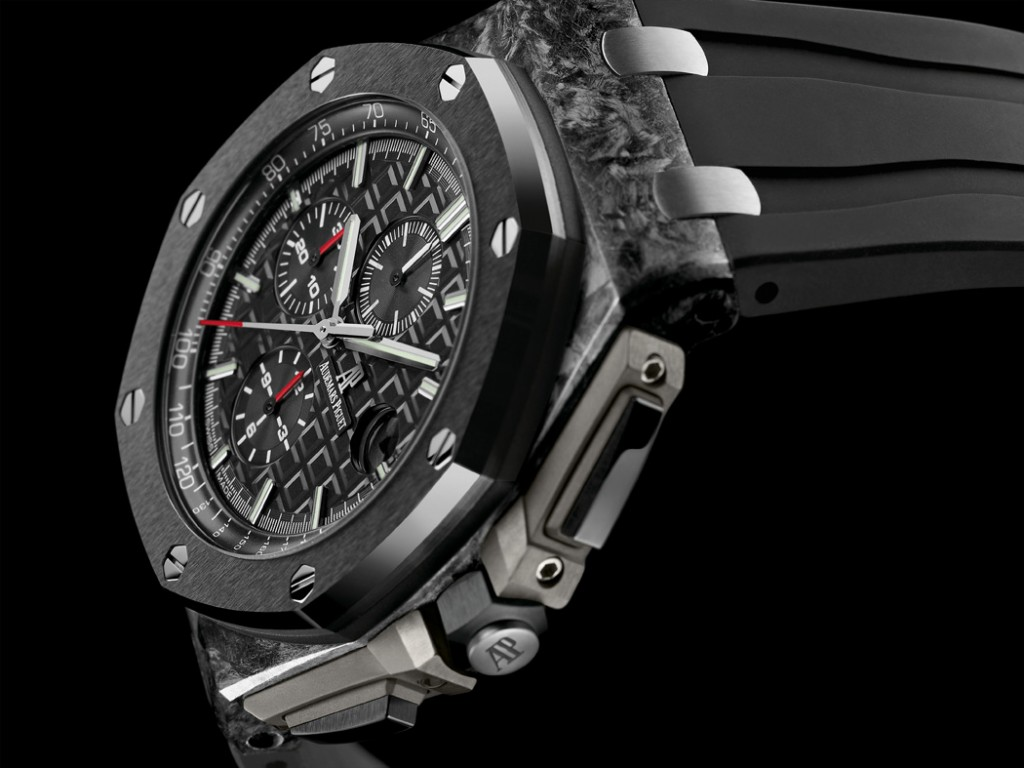 Audemars Piguet Royal Oak Offshore Chronograph in forged carbon