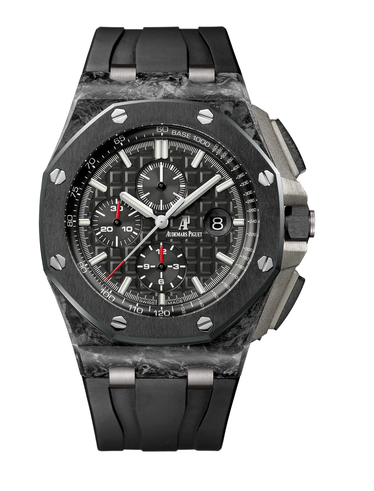Royal Oak Offshore Chronograph in forged carbon
