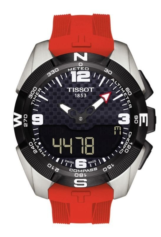 NBA and Tissot, N°1 Swiss traditional watch brand, announce ground-breaking global partnership as Tissot becomes the first Official Timekeeper and Watch of the NBA, WNBA and NBA Development League, starting from this week's NBA Global Games 2015-16. The new Partnership will enhance the Game through a collaborative integrated timing system. Mandatory Copyright Notice: Copyright 2015 NBAE (Photo by Bill Baptist/NBAE via Getty ImagesTissot_T_Touch_Expert_Solar_Tissot_Timekeeper_NBA_T091_420_.jpg (PRNewsFoto/TISSOT S.A.)