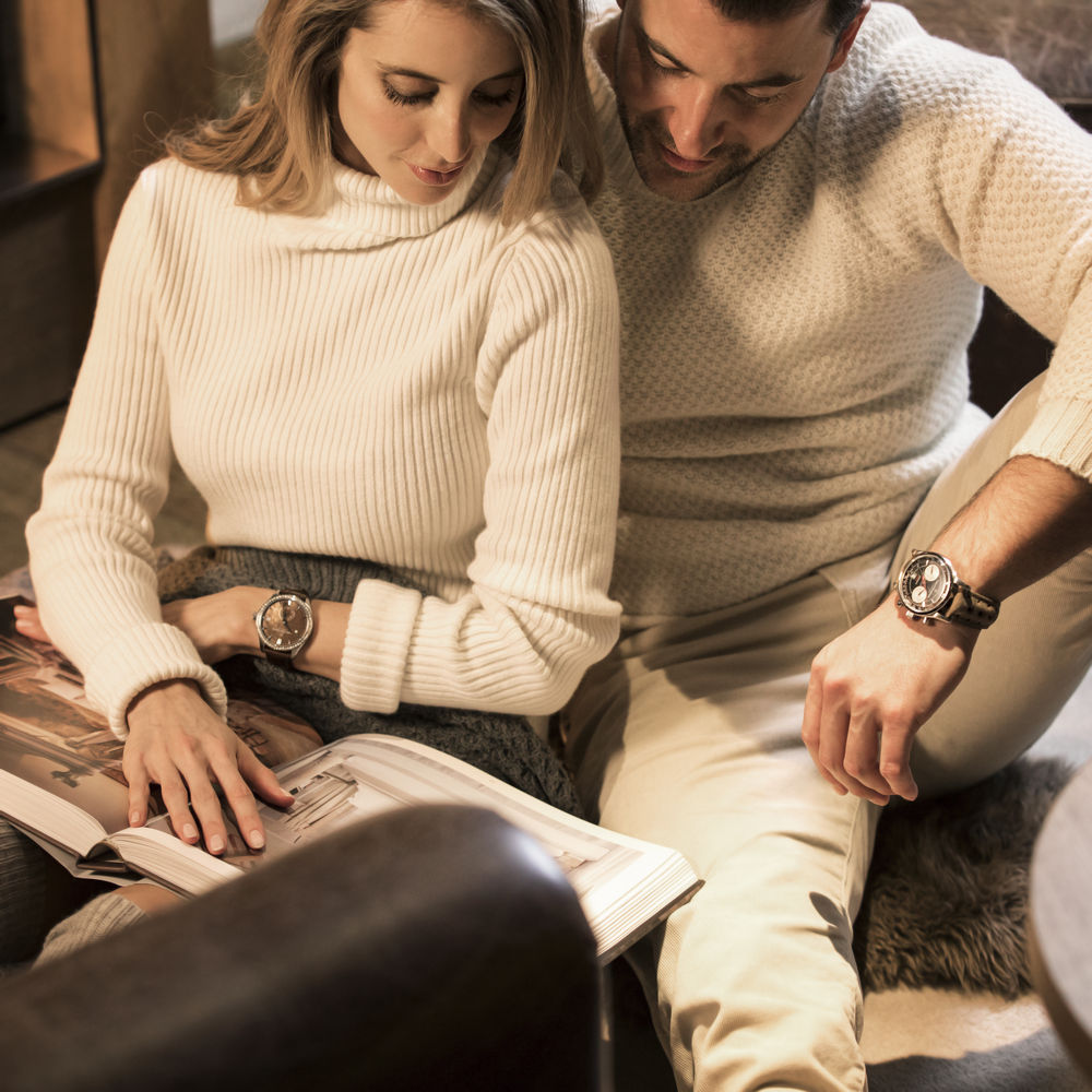 Carl F. Bucherer watches for him and her