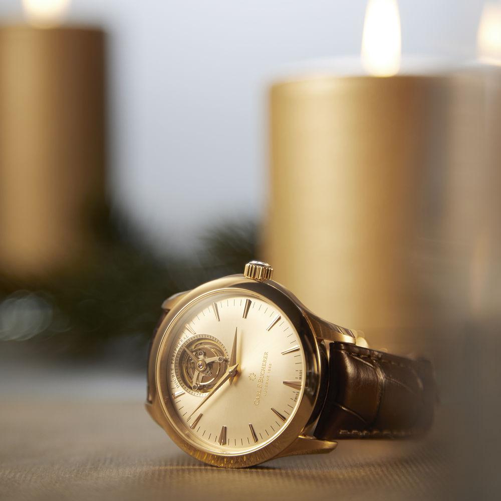 Carl F. Bucherer Manero Tourbillon Double Peripheral watch