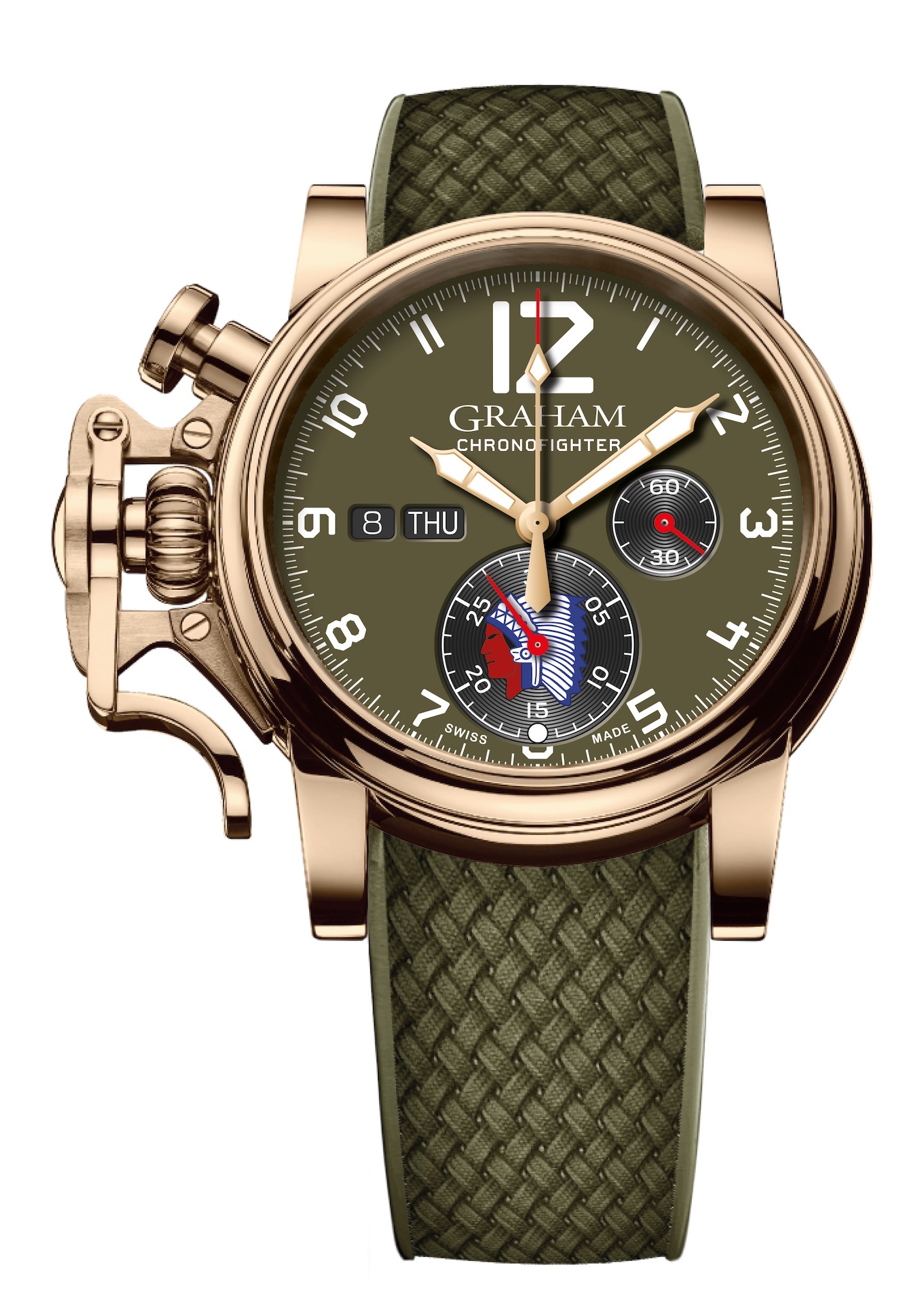 Graham Chronofighter Vintage Overlord watch.