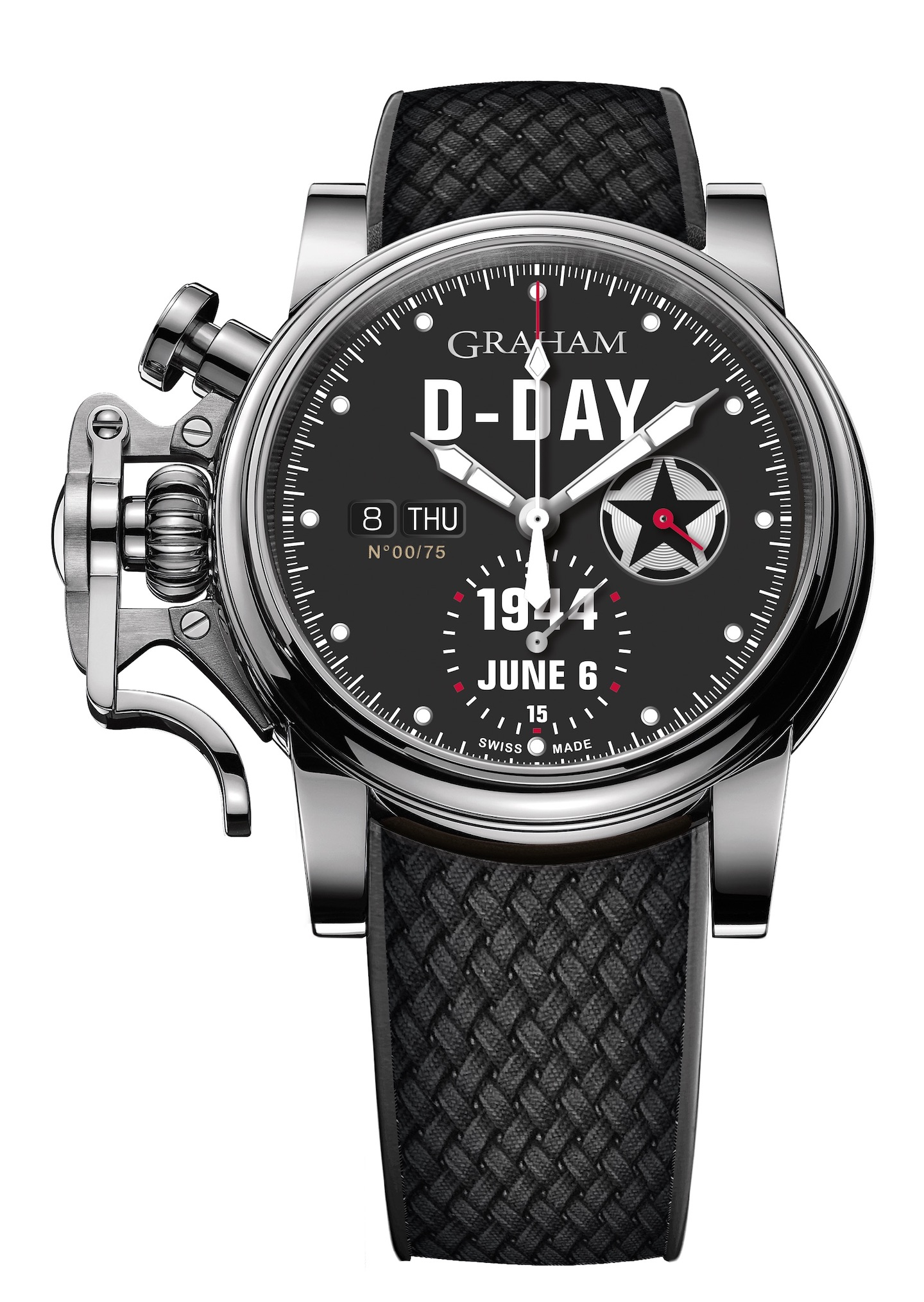 Graham Chronofighter Vintage D-Day watch.
