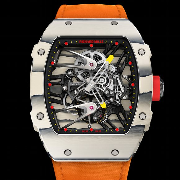 Richard Mille worn by Wayde van Niekerk as he set a new world record in the men's 400M -- running it in 43.03 seconds and beating the previous record set by Michael Johnson in 1999 by by 0.15 seconds.