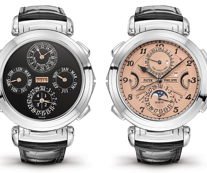Patek Philippe Grandmaster Chime with two dials becomes the world's most expensive watch, selling at the Only Watch 2019 auction for $31 million.