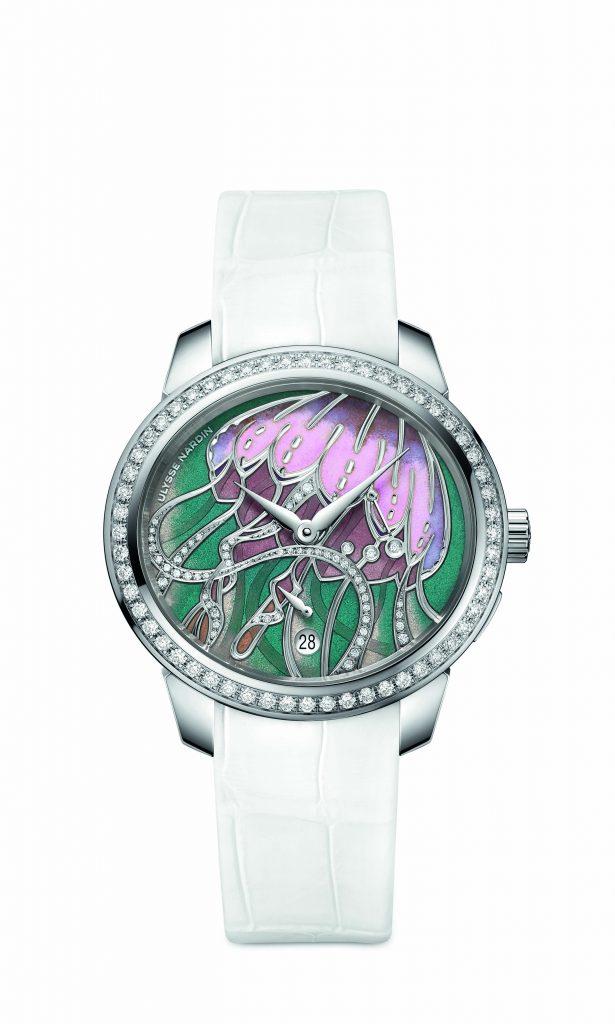 Ulysse Nardin Jade Cloissonne Jellyfish watch, 2017