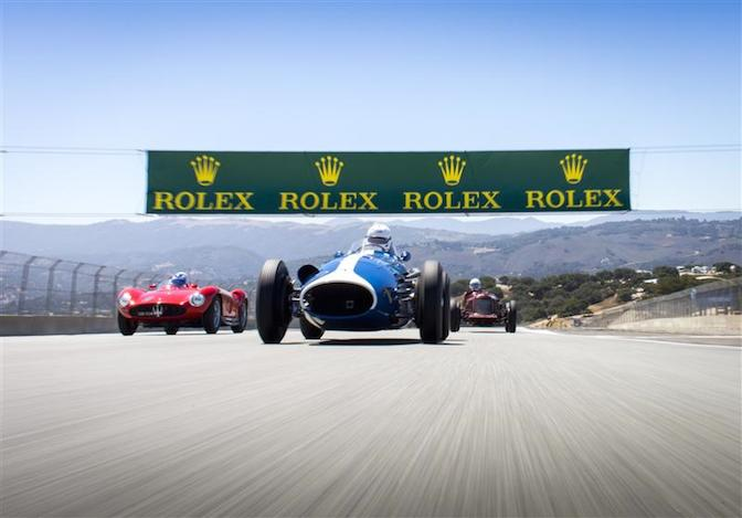 At the Rolex Monterey Motor Sports Reunion.