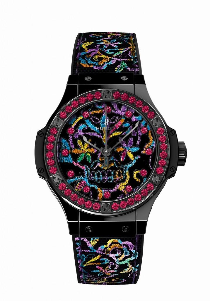 Hublot Broderie Skull watch