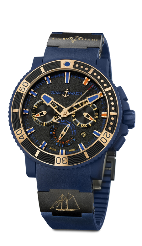 Ulysse Nardin Schooner Chronograph is a USA exclusive watch.
