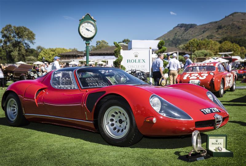 Alfa Romeo wins Best of Show award