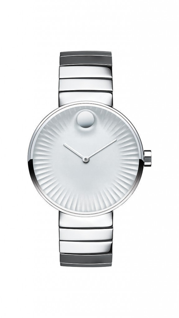 Each Movado Edge has a monochromatic appeal