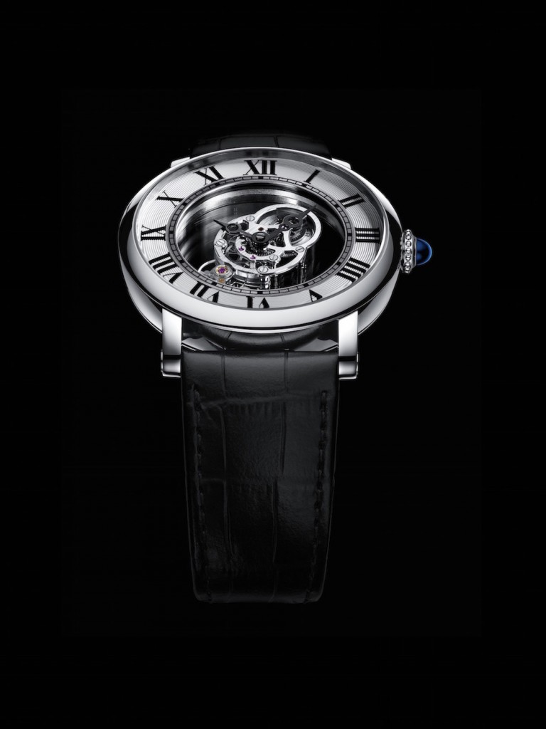 Just 100 pieces of theRotonde de Cartier Astromystérieux Caliber 9462 MC will be made, cased in palladium