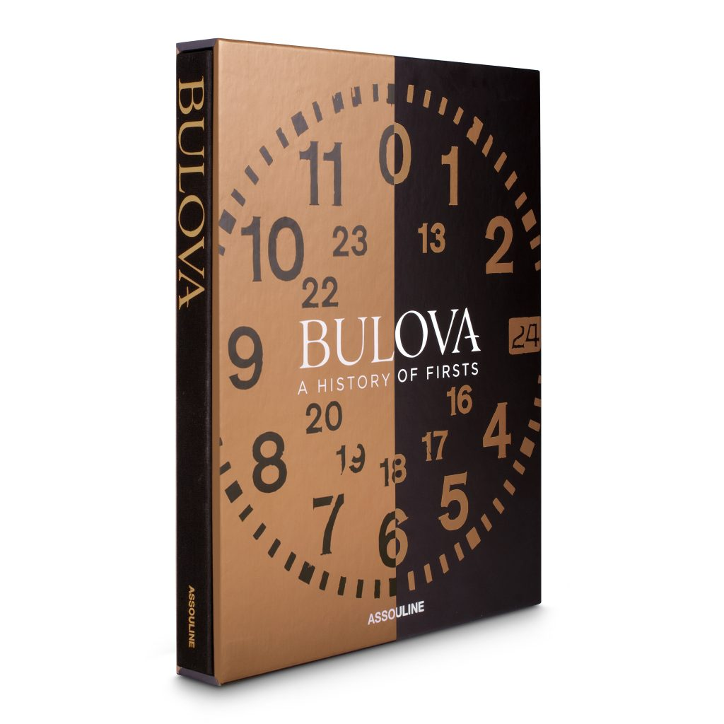 """Bulova: A History of Firsts"" published by Assouline, edited by Aaron Sigmond and written by 10 contributing authors."
