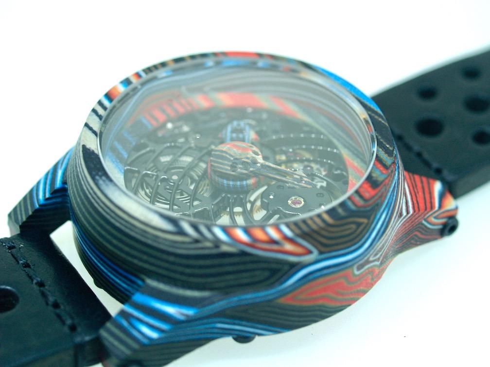 Paolo Maria Horology Kaeleidscopic watch