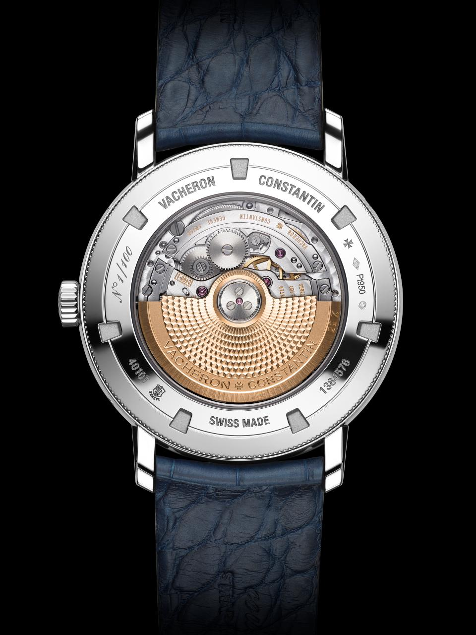 The movement of the Vacheron Constantin TRADITIONNELLE COMPLETE CALENDAR Collection Excellence Platine consists of 308 parts. Pre-SIHH 2018