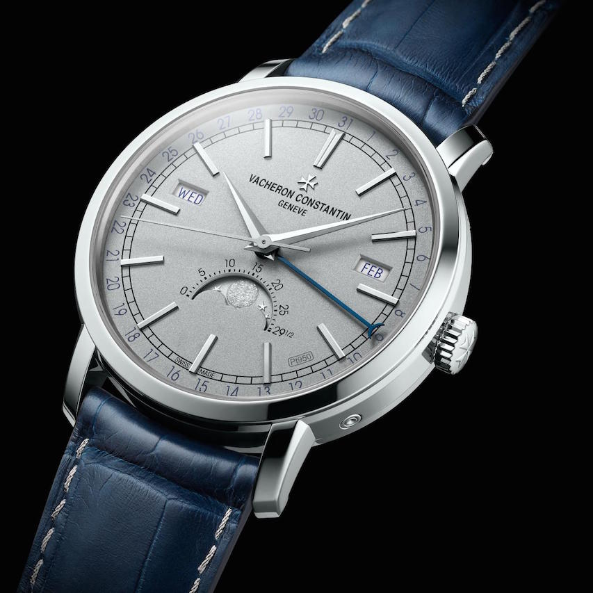 Pre-SIHH 2018: Vacheron Constantin TRADITIONNELLE COMPLETE CALENDAR Collection Excellence Platine