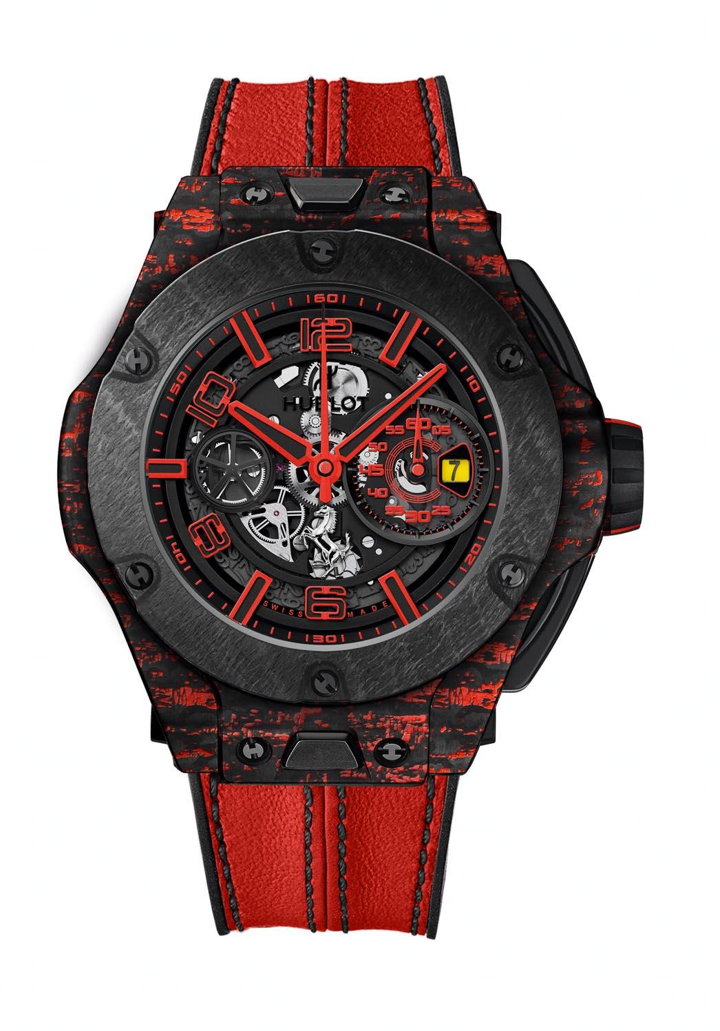 Hublot Big Bang Ferrari Scuderia Corsa limited edition