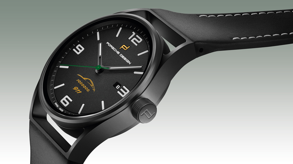 Porsche Design 1919 Datetimer One Millionth 911 watch.