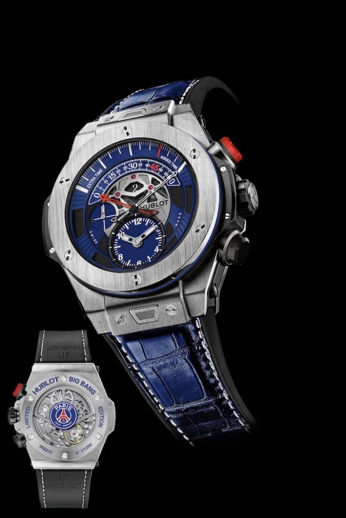 Hublot Big Bang Unico Bi-Retrograde Paris Saint-Germain watch