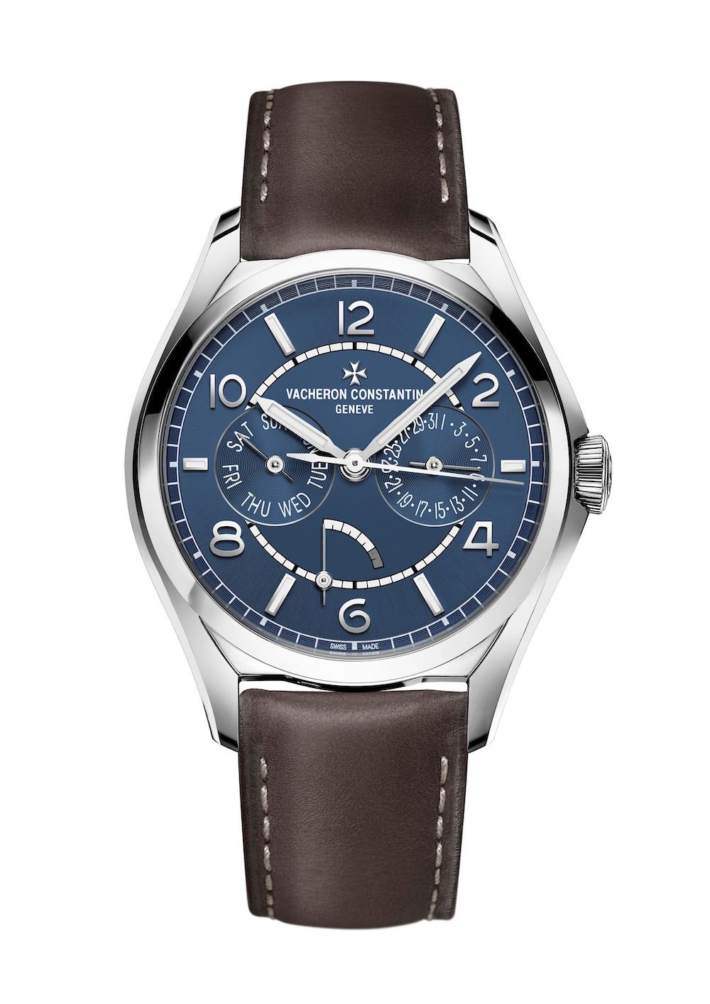 Vacheron Constantin Fiftysix Day-Date Petrol Blue watch, Mr Porter