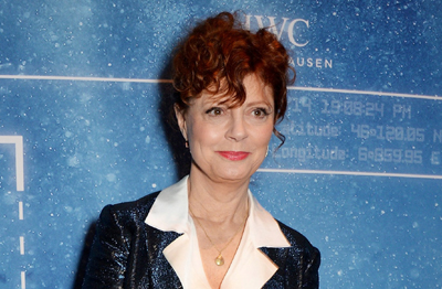 "Susan Sarandon at the  ""Inside the Wave"" IWC event in Geneva."