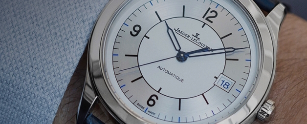 Jaeger-LeCoultre Master Control Automatic Date watch celebrates 25 years.