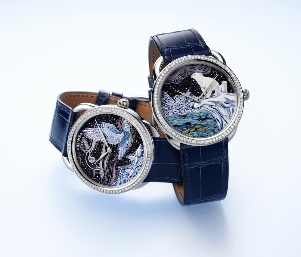 Hermes Arceau Into the Canadian Wild watches