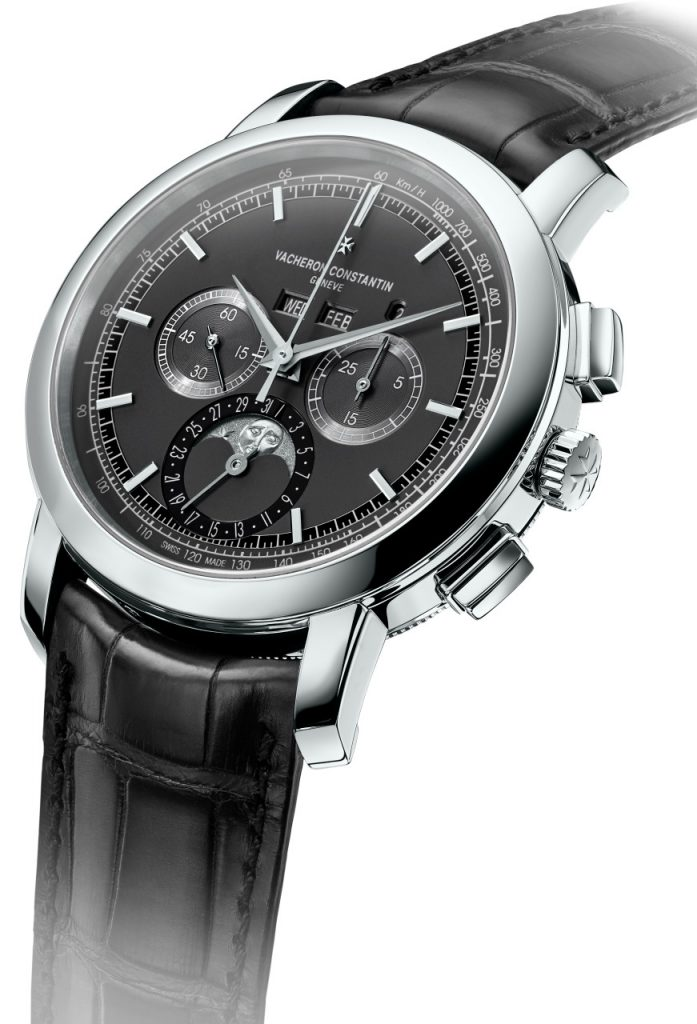 Vacheron Constantin Traditionnelle chrono Perpetual Calendar platinum watch with new caliber