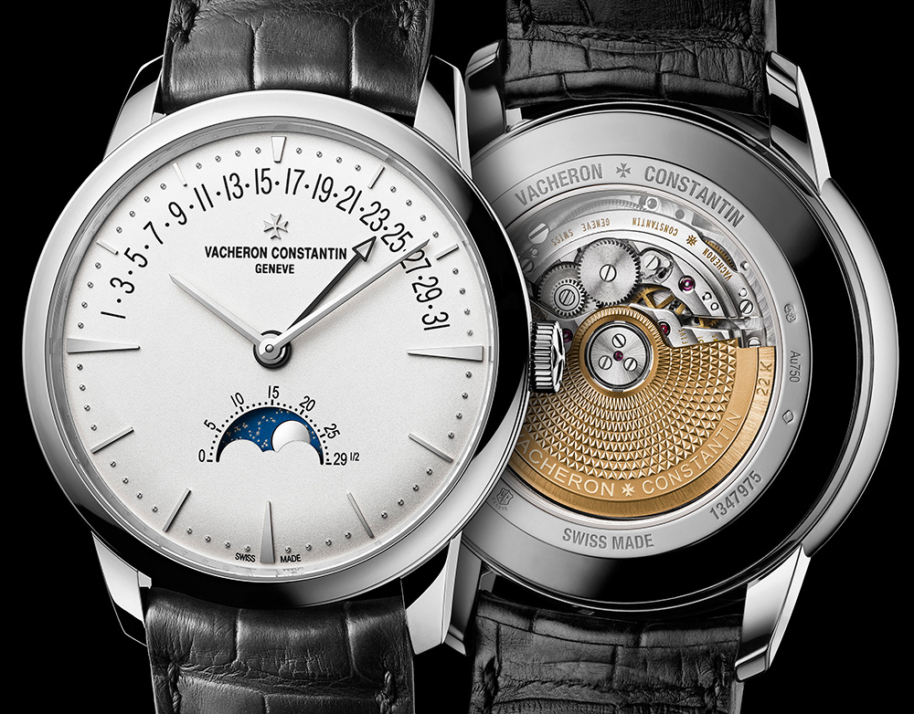 The Vacheron Constantin Patrimony Moonphase Retrograde date watch houses a new caliber ... and is in stores now.