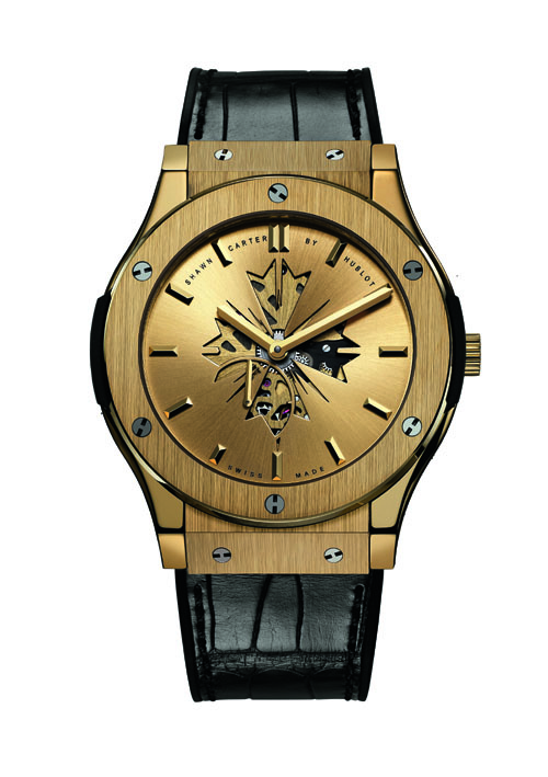 Hublot partners with Jay-Z for a new mini collection of 'Shawn Carter by Hublot' watches