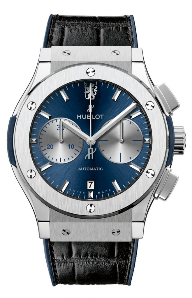 The Classic Fusion Chelsea FC watch is being built in a limted edition of 200 pieces.