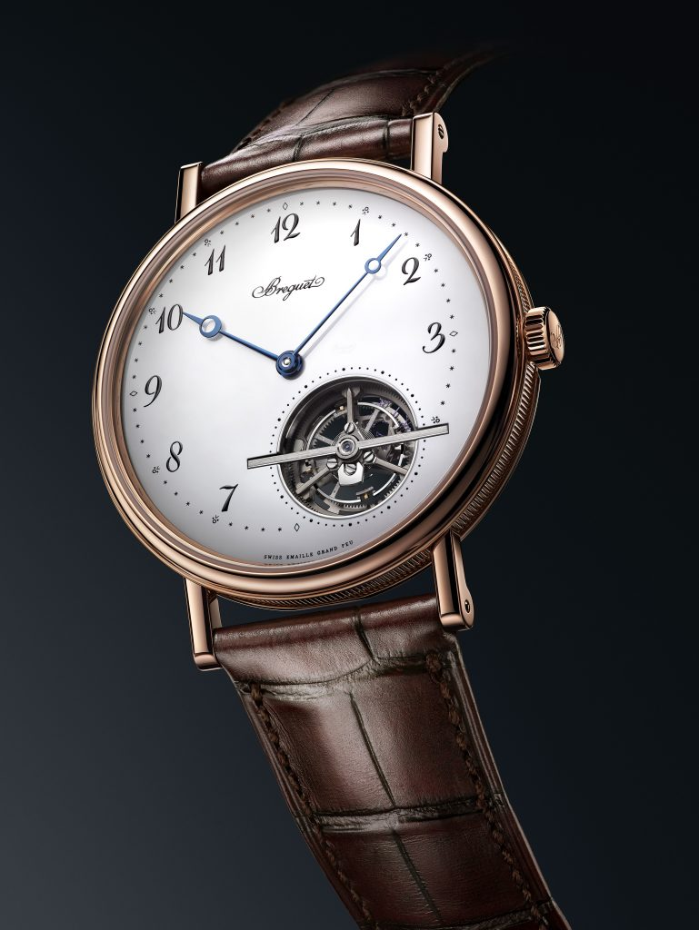 Breguet Classique Tourbillon Extra-Plat Automatique 5367 Grand Feu at Baselworld 2018