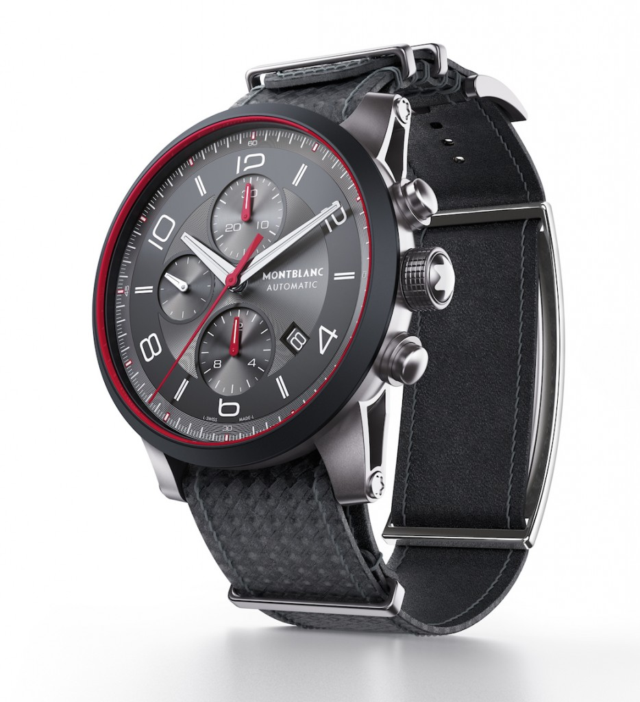 Montblanc UrbanSpeed e-Strap watch
