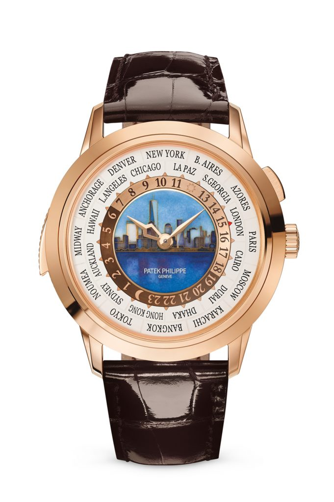 Unveiled today at the Patek Philippe - The Art of Watches grand exhibition in New York, the Ref. 5531R World Time Minute Repeater, New York Special Edition watch sells for $561,341.