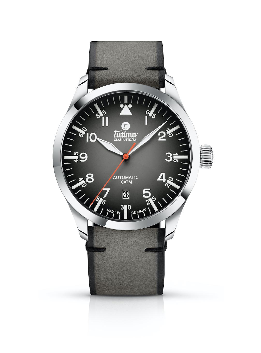 Tutima Flieger Slate Grey pilot watch