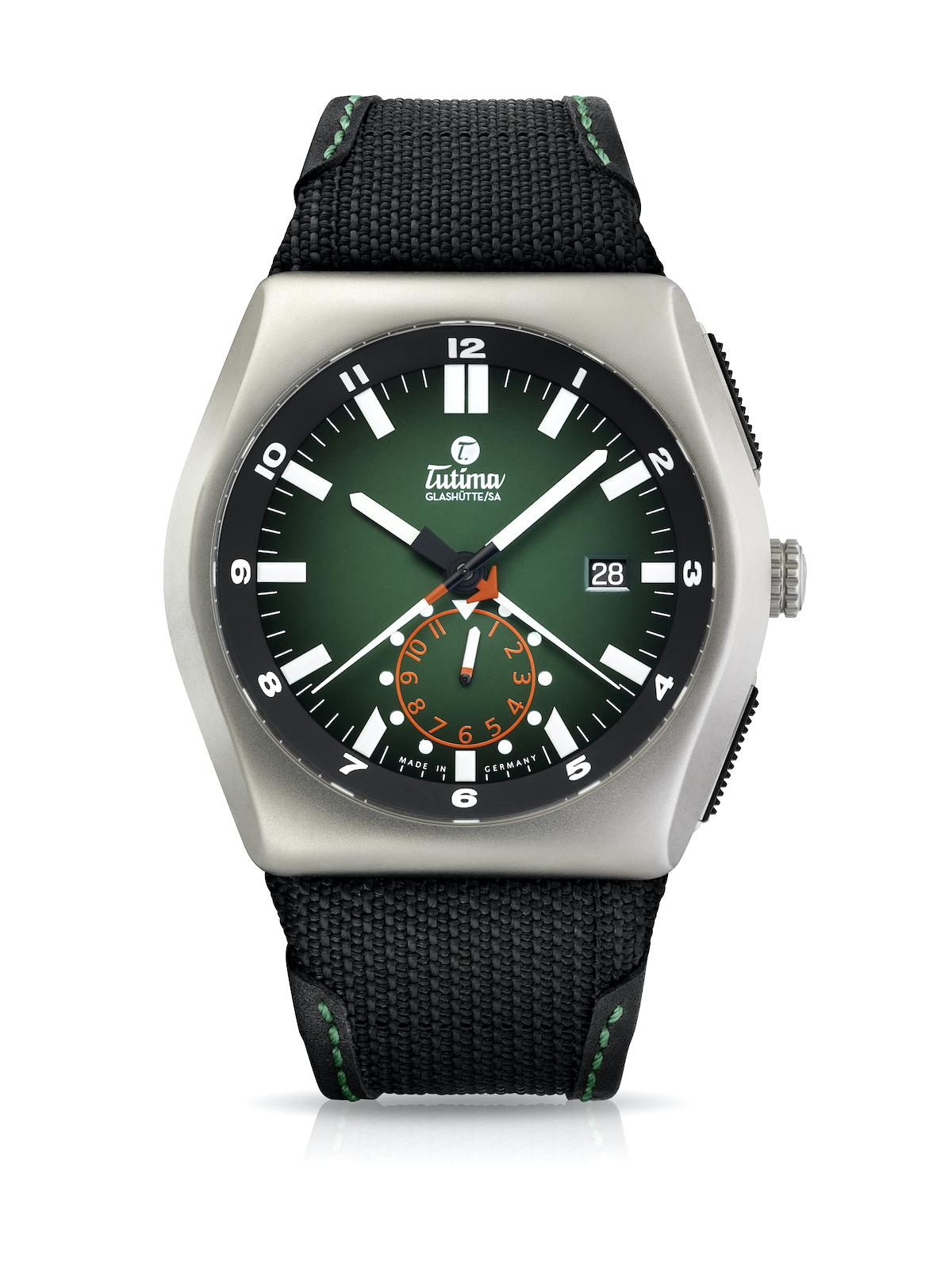 Tutima M2 Commando Green