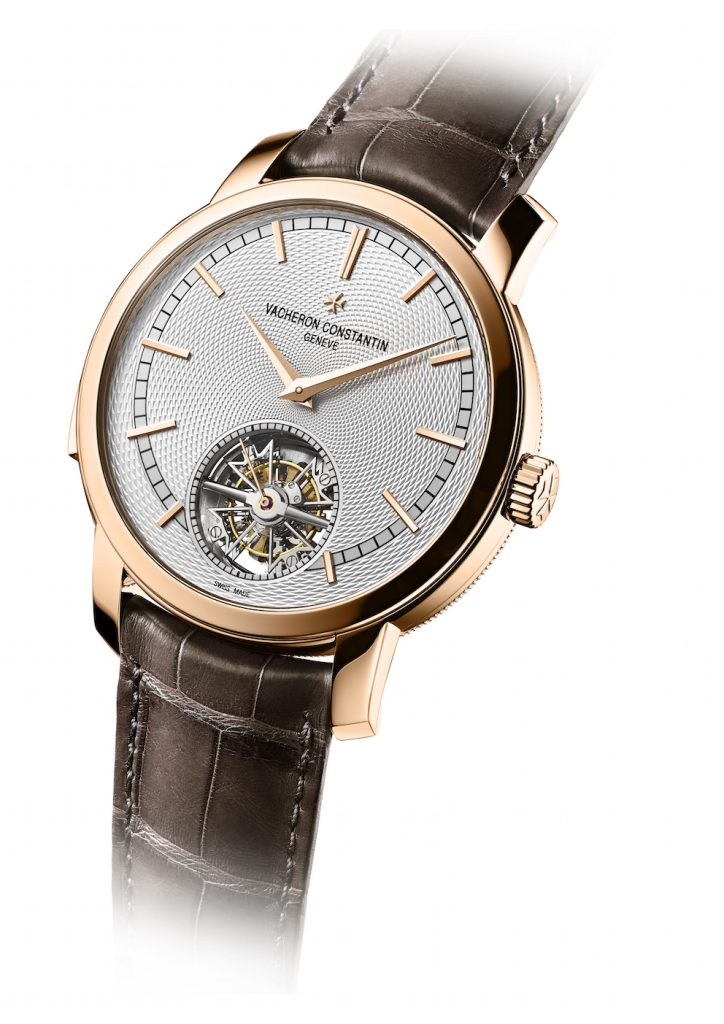 The highly complicated watch is being offered only in platinum and in 18-karat rose gold.