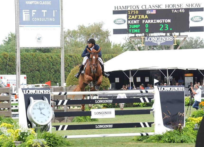 Longines is the Official Timekeeper of the Hamptons Classic Horse Show.