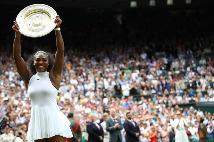 Serena Williams wins Wimbledon (photo: Getty Images/Clive Brunskill)