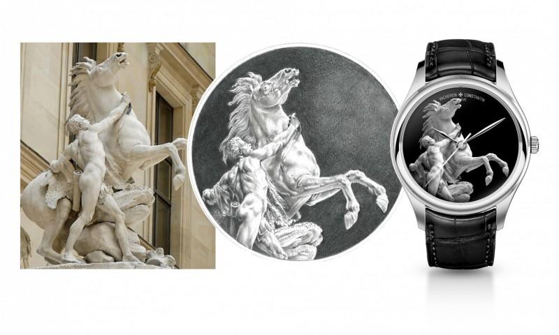 "Vacheron Constantin Les Cabinotiers ""Bid for the Louvre"" watch."