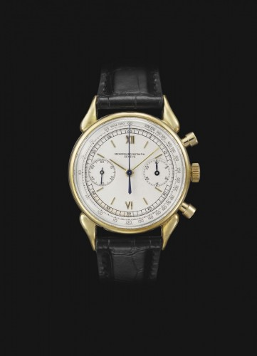 Vacheron Constantin Cornes de Vache 1955 Stainless Steel watch.