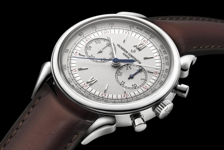 Vacheron Constantin Cornes de Vache 1955 Stainless Steel watch.