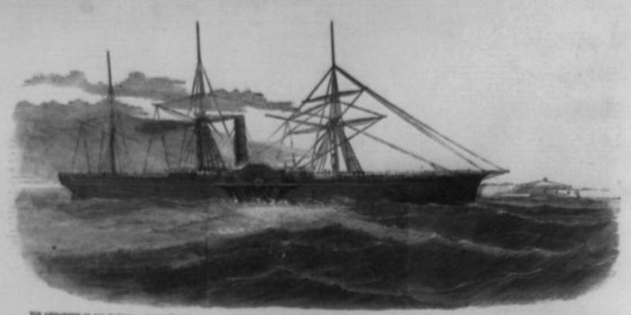 The SS Central America, 1857