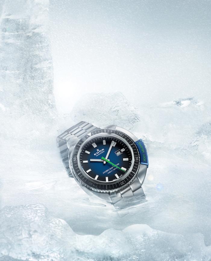 The Edox HydroSub 50th Anniversary Limited Edition On Ice