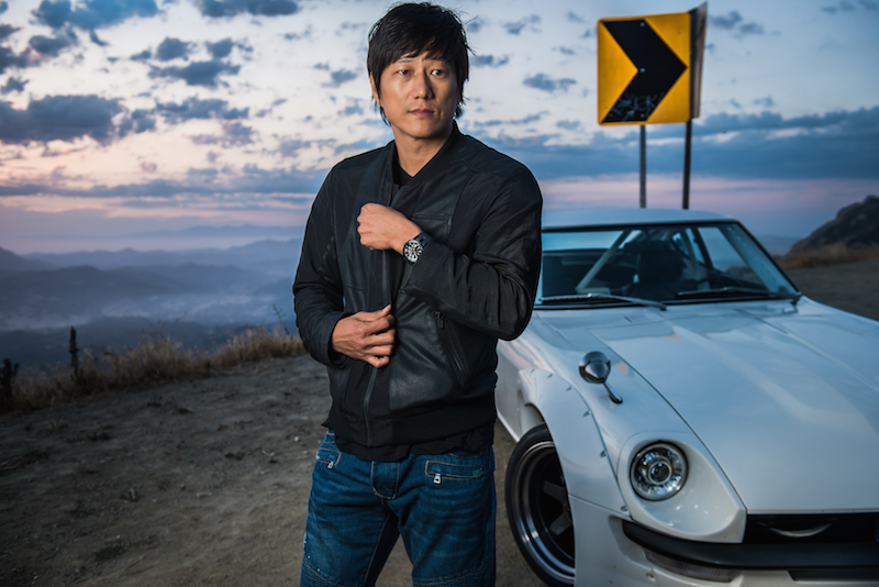 Fast and Furious actor Sung Kang will be present with Perrelet
