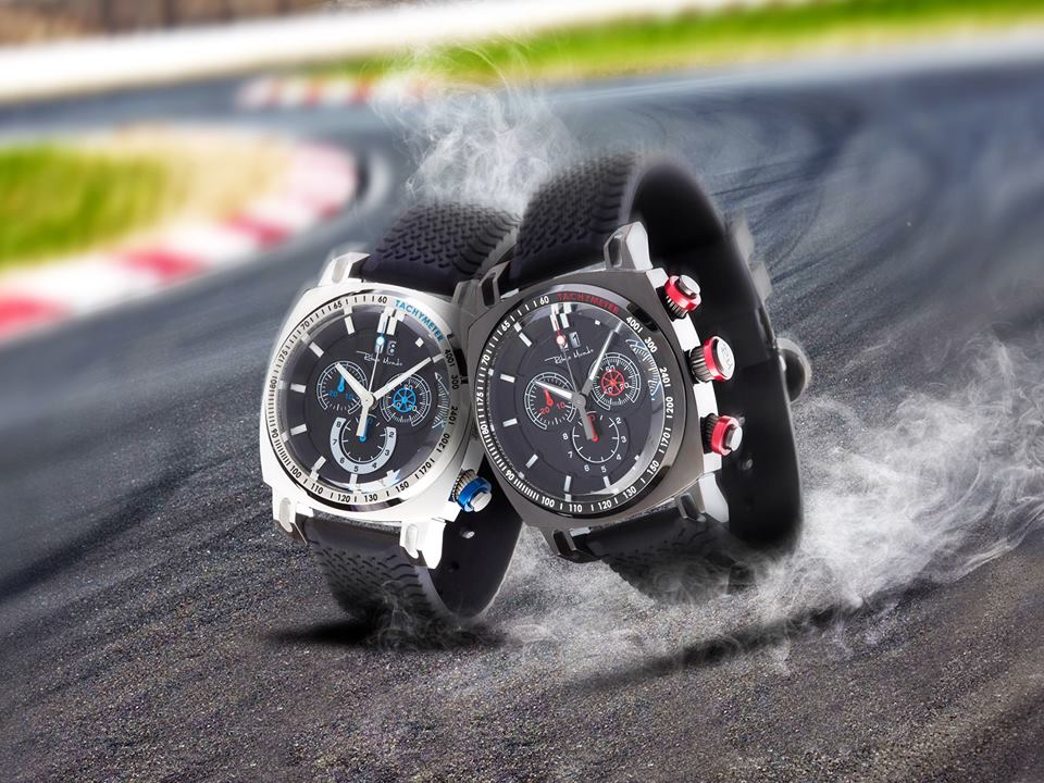 The Racer Chronograph is steamy on and off the track.