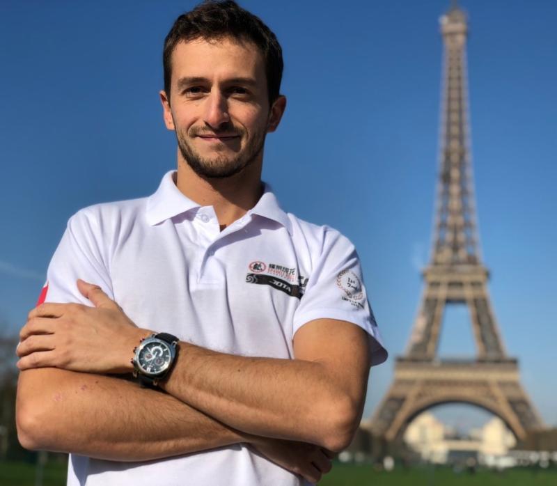 Endurance driver Stephane Richelmi becomes Ritmo Mundo watch brand friend.